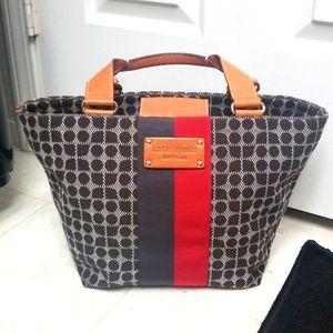 [Like New] KATE SPADE tote bucket bag LOGO BOTTOM